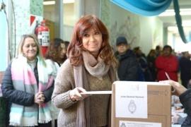 Elecciones 2019: CFK votaría alrededor de las 12:00 en el Colegio Nº19