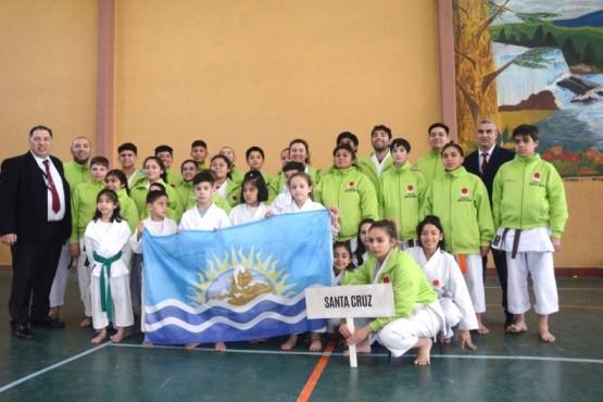 Equipo de Karate.