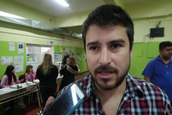 Leonardo Roquel, candidato a concejal (Foto C.G.)