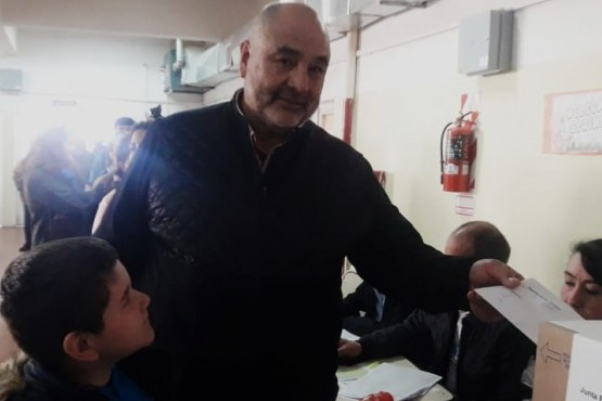 El candidato a intendente José Luis Gómez.