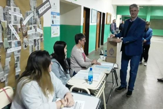 Sergio Ongarato, intendente de Esquel.