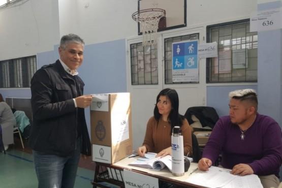 Pablo González recordó a Néstor Kirchner en esta jornada electoral
