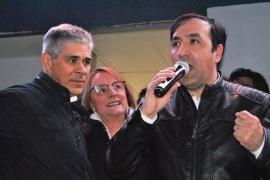 """""""Queremos levantar la ciudad"""", dijo Grasso tras imponerse como intendente"""