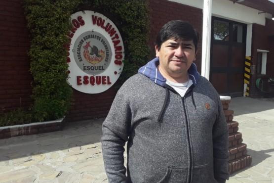 Jefe del cuartel de Bomberos Voluntarios.