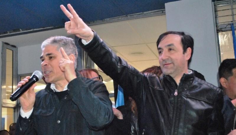 González y Grasso, dos de los grandes triunfadores. (J.C.C.).