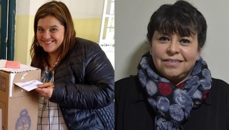 Daniela D´amico y Paola Costa.