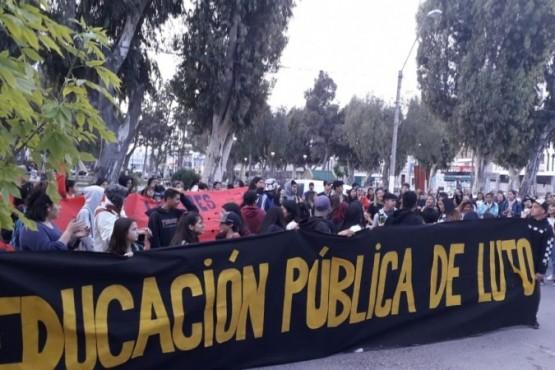 Protesta docente.