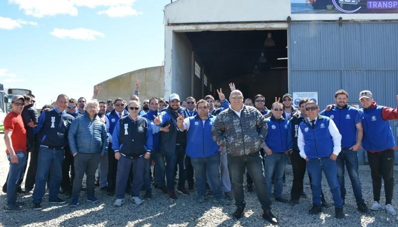 Asamblea realizada ayer por los trabajadores.