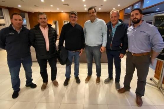 Secretario de Pesca de la Provincia se reunió con el presidente de la compañía Cooke Aquaculture Inc.