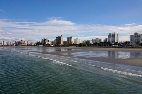Caluroso en Puerto Madryn.