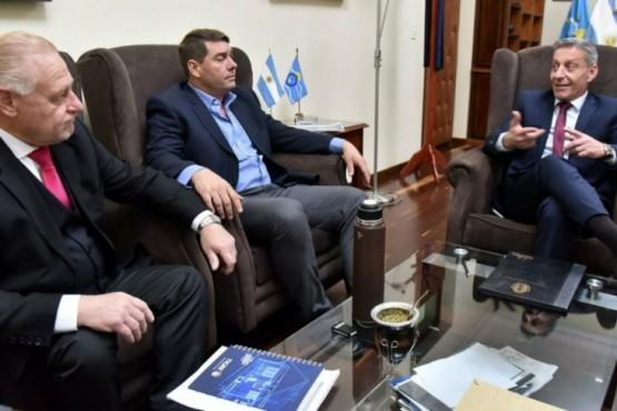 El gobernador junto al intendente electo.