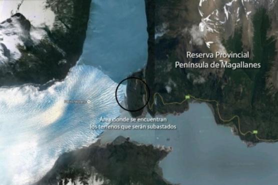 El sector es uno de los más asombrosos en la zona del glaciar. (Archivo).