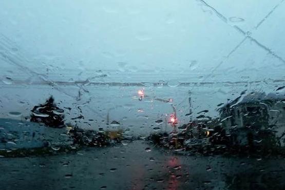 Lluvias en Tierra del Fuego.