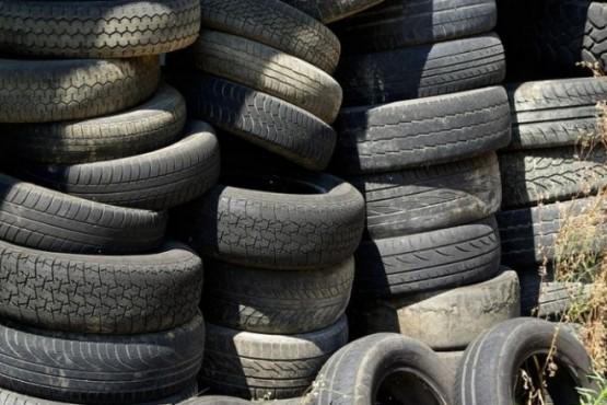 Los neumáticos en desuso serán reciclados en Buenos Aires.