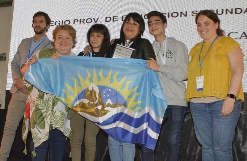 Los participantes santacruceños.