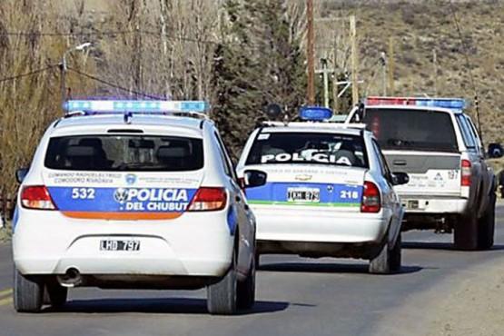 Policia de Chubut.