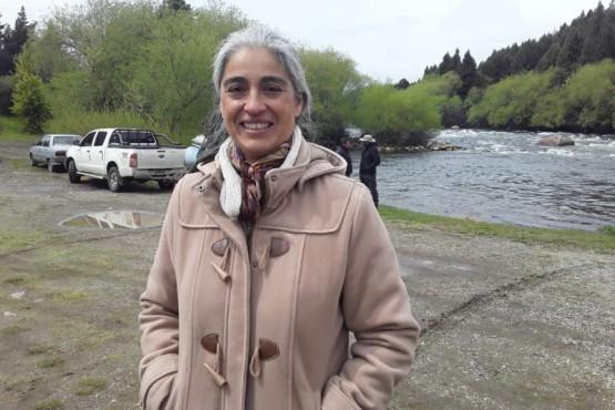 Presidente de la Comuna Rural de Atilio Viglione, Cristina Solís
