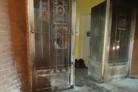 Investigan atentado con bomba molotov al edificio del SOEM