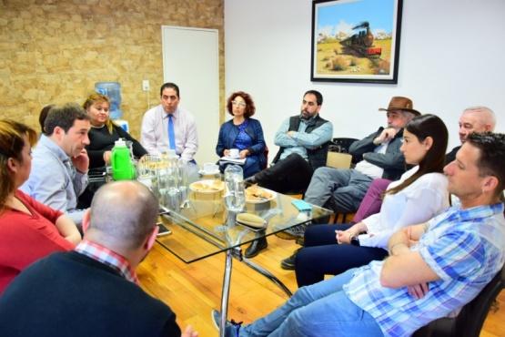 Reunión de Luque con los concejales electos.