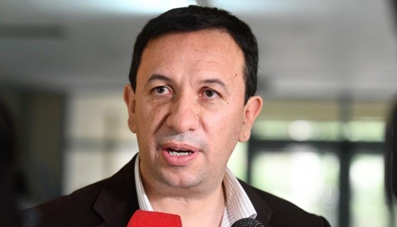 Adrián Maderna, intendente de la Municipalidad de Trelew.