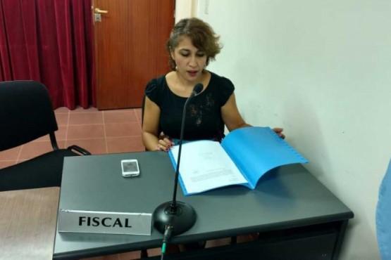 Funcionaria del Ministerio Publico Fiscal, Rita Barrionuevo.