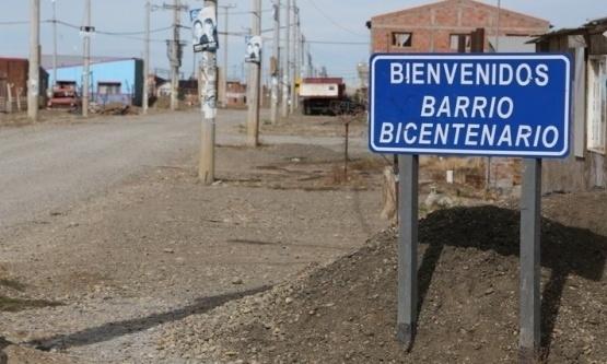 Ingreso Barrio Bicentenario.