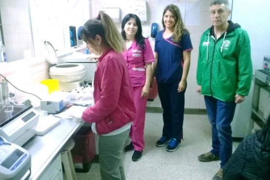 Trabajadoras STH junto a José Navarro