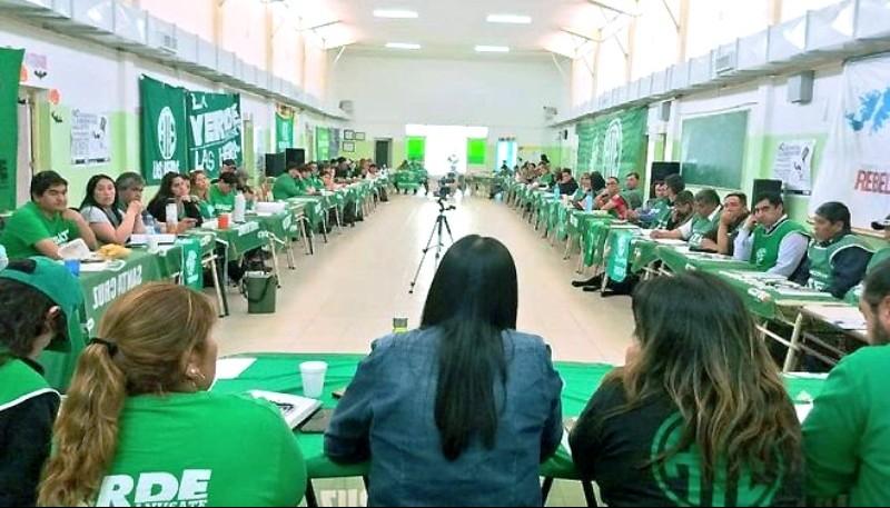 EL Plenario se realizó el fin de semana y estuvo encabezado por Olga Reinoso.