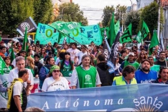 ATE en las calles (Foto archivo).