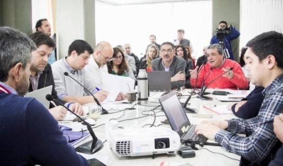Reunión entre el Municipio y el Concejo Deliberante.