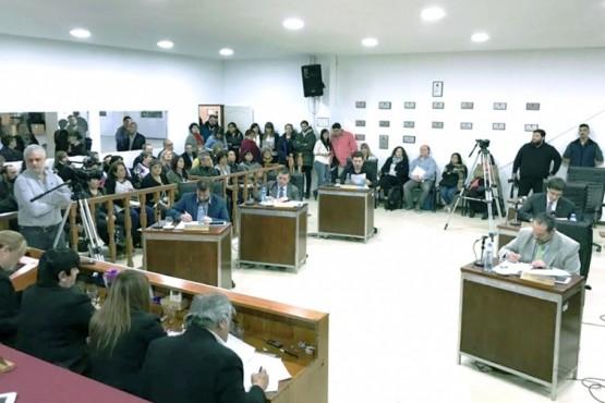Recinto del Concejo Deliberante.