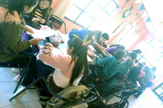 Actividades escolares en el CAF