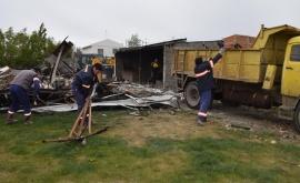 Municipio asistió a familia que perdió todo en un incendio