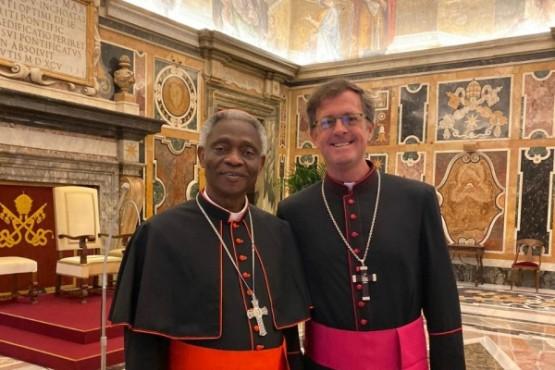 García Cuerva se encuentra en el Vaticano.