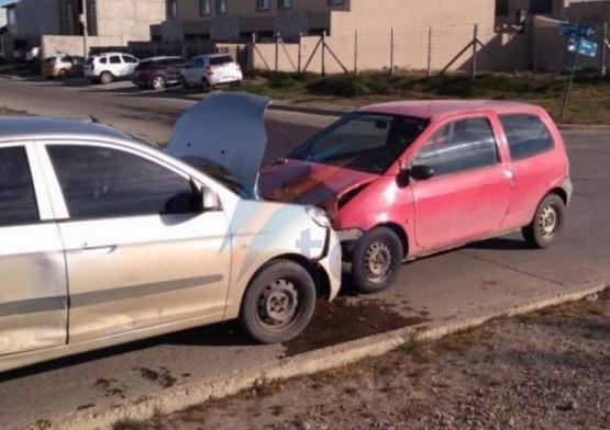 Daños materiales en los vehículos.