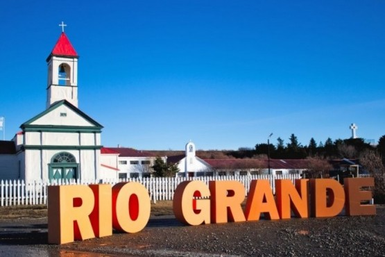 La localidad de Río Grande.