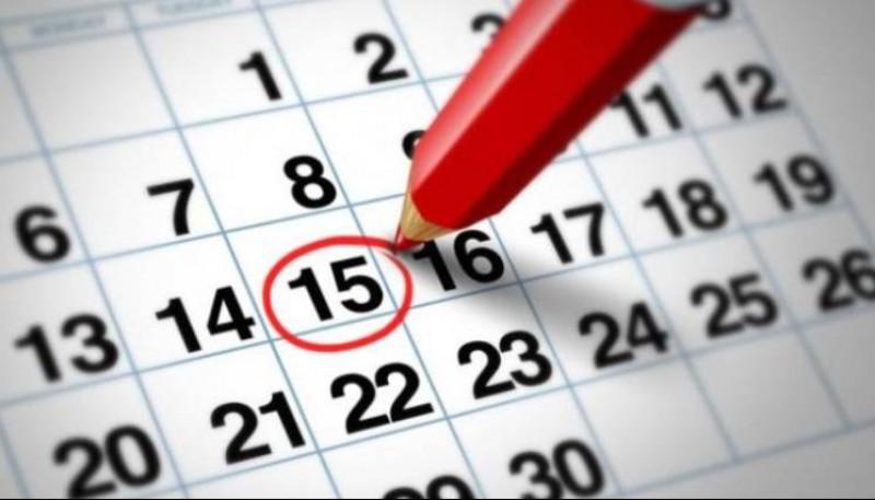 Anota en el calendario que podés hacer hoy.
