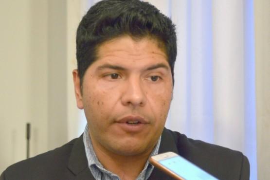 Cristian Ayala, Secretario de Trabajo.
