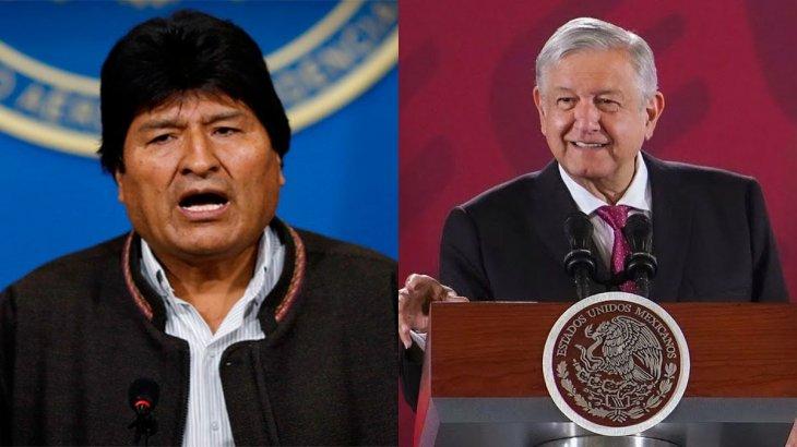 Morales recibió asilo político.