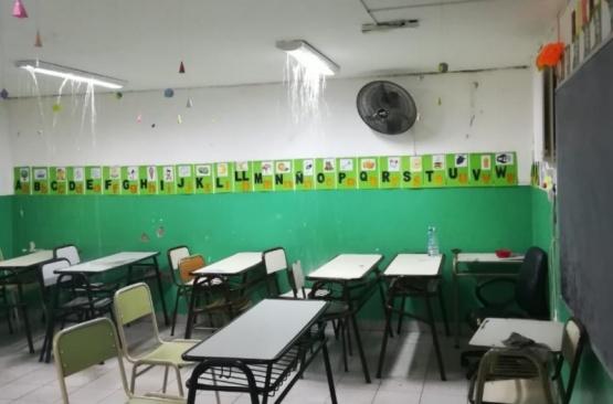 Filtraciones en el aula.