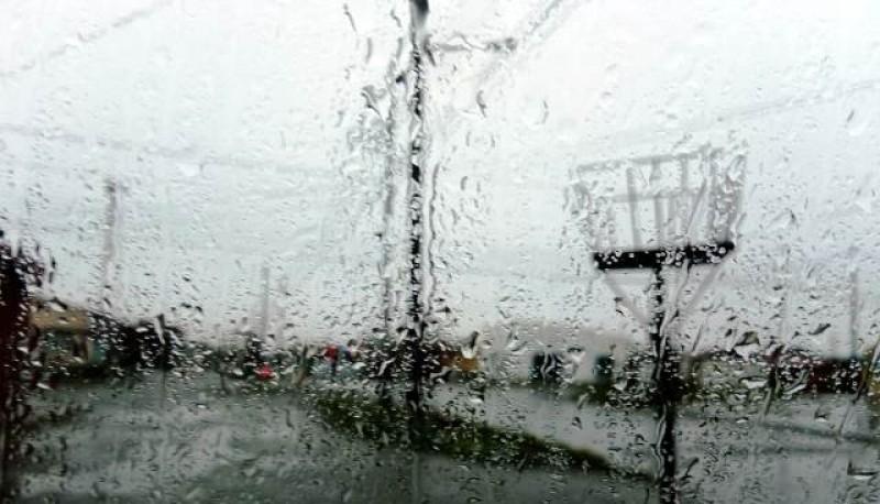 Lluvias aisladas en la zona sur de la provincia.