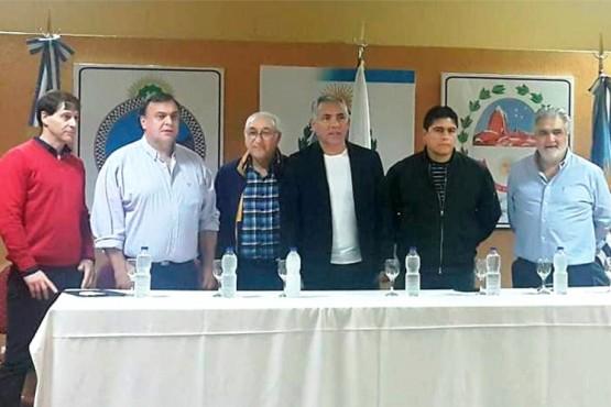 Reunión del mes de abril, donde se especuló con la creación de un nuevo espacio político.