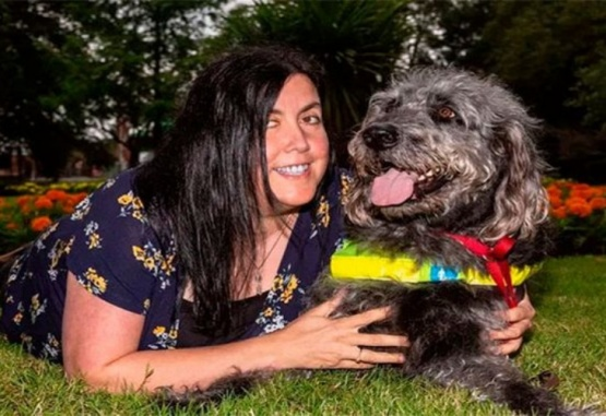 Zena Cooper ahora tiene 42 años. Foto: Daily Mail