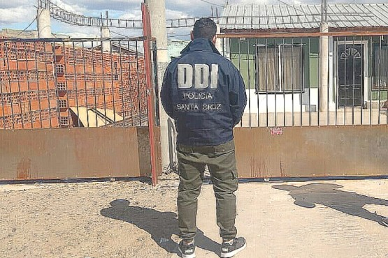 Vivienda donde residía el detenido por el intento de homicidio.