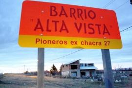 Después de 60 años el B° Alta Vista podría lograr la llegada de la red de gas