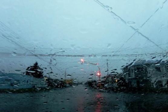 Lluvioso en la zona sur de la provincia.