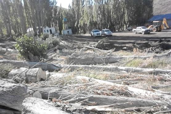 Uno de los parques comprado por la fundación que la FIAS denuncia está abandonado.