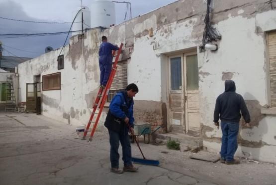 Dieron detalles de los trabajos de mantenimiento y refacción en escuelas