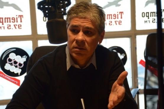 Pablo González dialogó con Tiempo FM (Foto archivo)