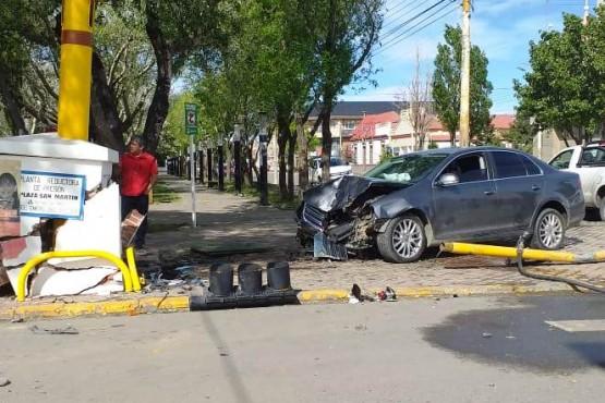 El Vento tras el choque (Foto: C.Robledo).
